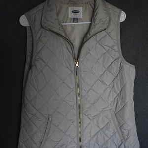 Old Navy Lightweight Cream Vest